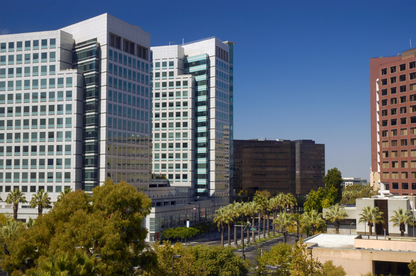 Downtown San Jose buildings
